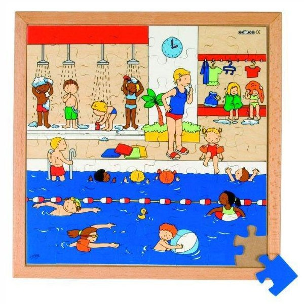 Детская развивающая игра Пазл «Бассейн» арт. 522877