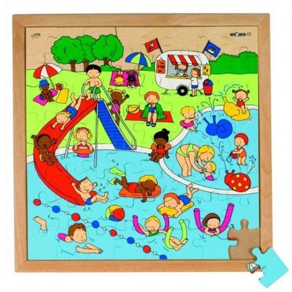 Детская развивающая игра пазл «Бассейн» арт. 522618