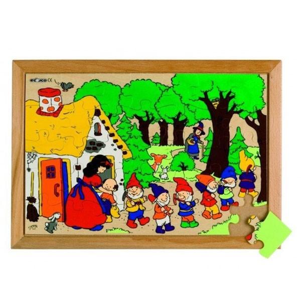 Детская развивающая игра пазл «Белоснежка» арт. 522562