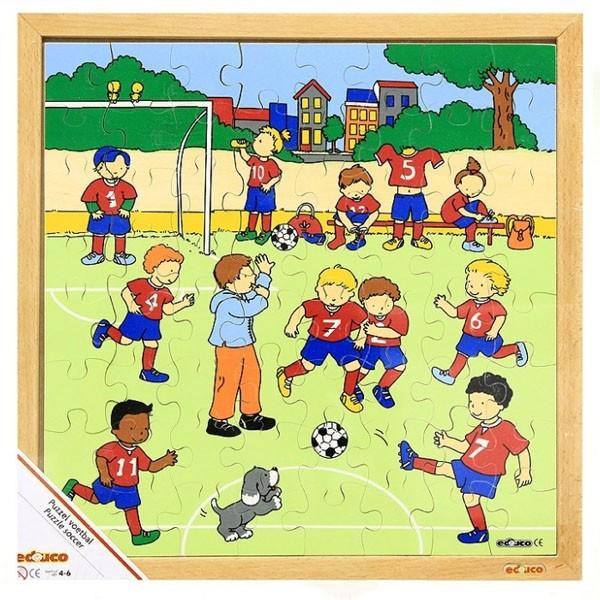Детская развивающая игра Пазл «Футбол» арт. 522879