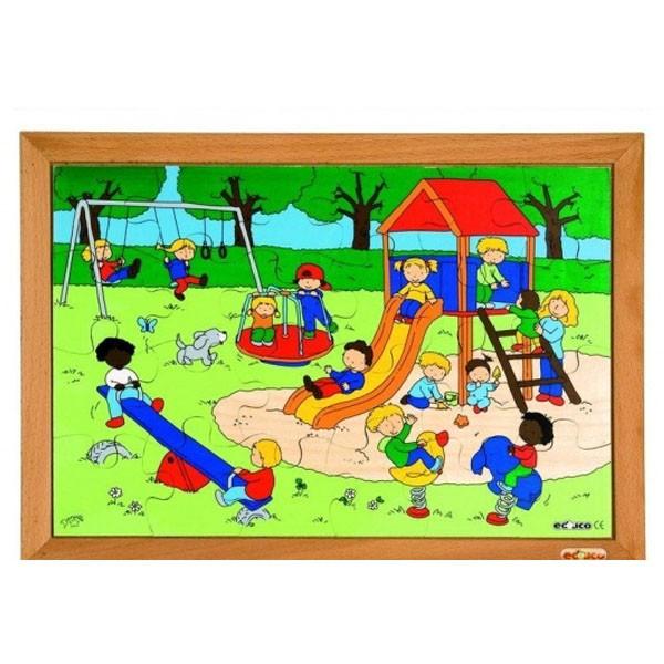 Детская развивающая игра пазл «Игровая площадка» арт. 522573