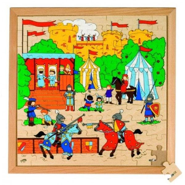 Детская развивающая игра  Пазл «Исторические бои» арт. 522812