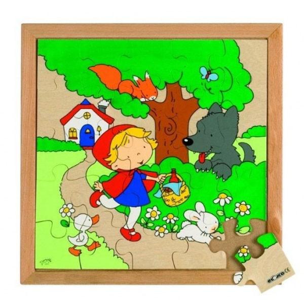 Детская развивающая игра пазл «Красная шапочка» арт. 522870