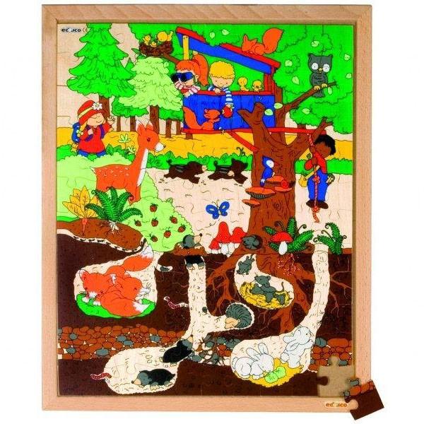 Детская развивающая игра пазл «Лес» арт. 522853