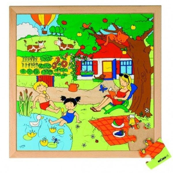 Детская развивающая игра пазл «Лето» арт. 522624