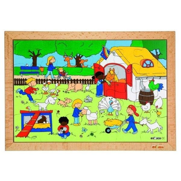 Детская развивающая игра Пазл «На ферме» арт. 522571