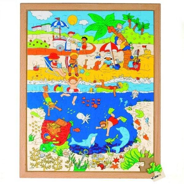 Детская развивающая игра пазл «Океан» арт. 522851