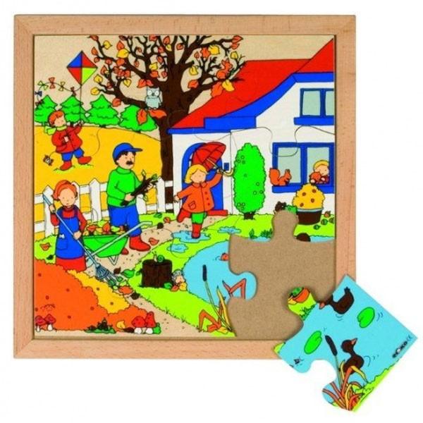 Детская развивающая игра  Пазл «Осень» арт. 522857