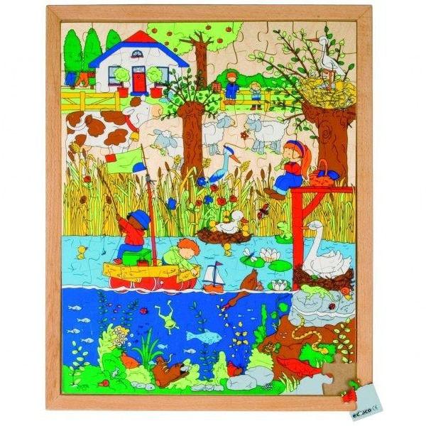 Детская развивающая игра пазл «Озеро» арт. 522852