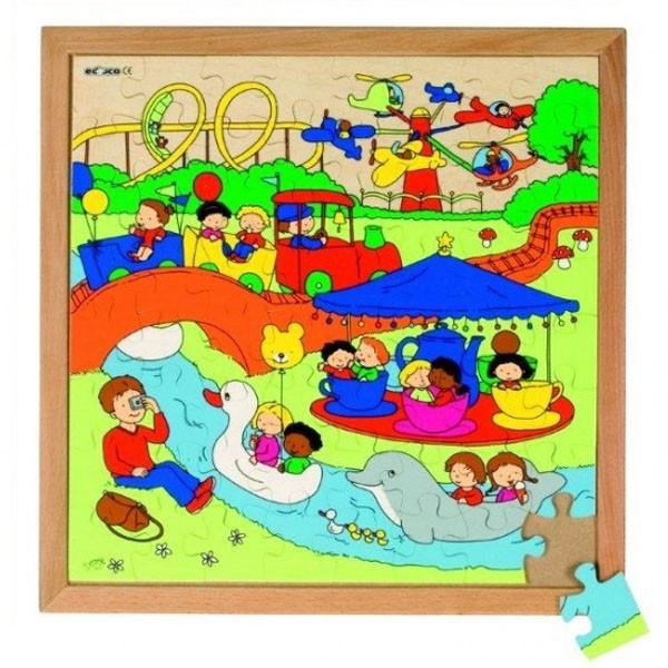 Детская развивающая игра пазл «Парк развлечений» арт. 522617