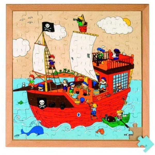 Детская развивающая игра  Пазл «Пиратский корабль» № 1 арт. 522811
