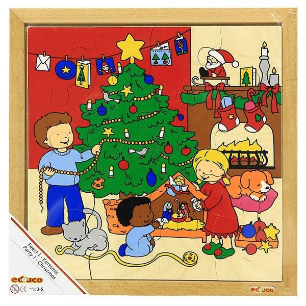 Детская развивающая игра  Пазл «Рождество» арт. 522911