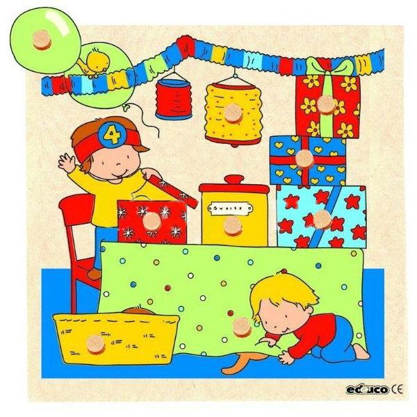 Детская развивающая игра пазл с секретом «Игровая комната» арт. 522403