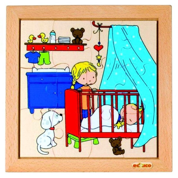 Детская развивающая игра Пазл «Сон малыша» арт. 522676