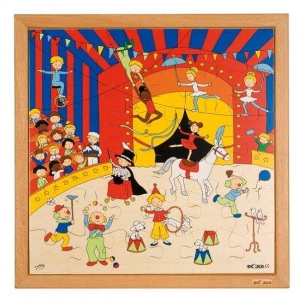 Детская развивающая игра Пазл «Цирк» арт. 523050