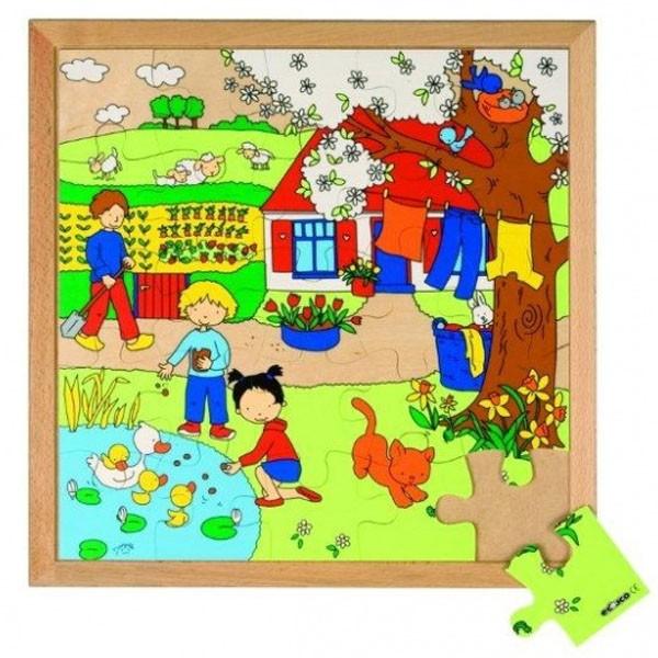Детская развивающая игра пазл «Весна» арт. 522623