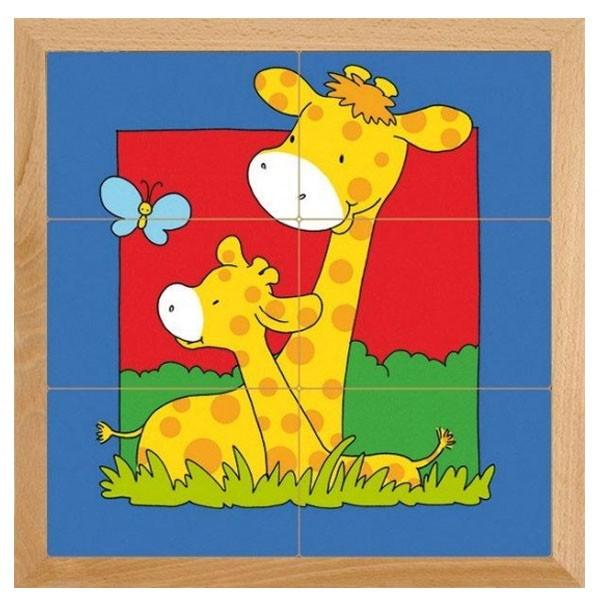 Детская развивающая игра Пазл «Жираф» арт. 522276
