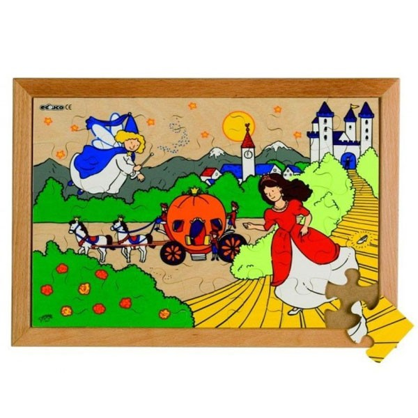 Детская развивающая игра пазл «Золушка» арт. 522561