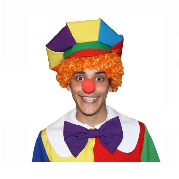 Карнавальный аксессуар рыжий парик для клоуна арт PK-1r