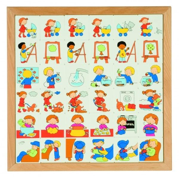 Детская развивающая игра «Логика» арт. 522448