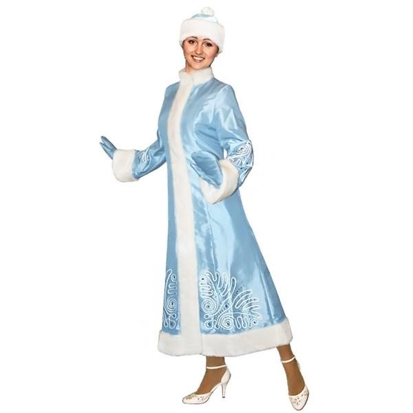 Карнавальный костюм Снегурочки арт S-106g