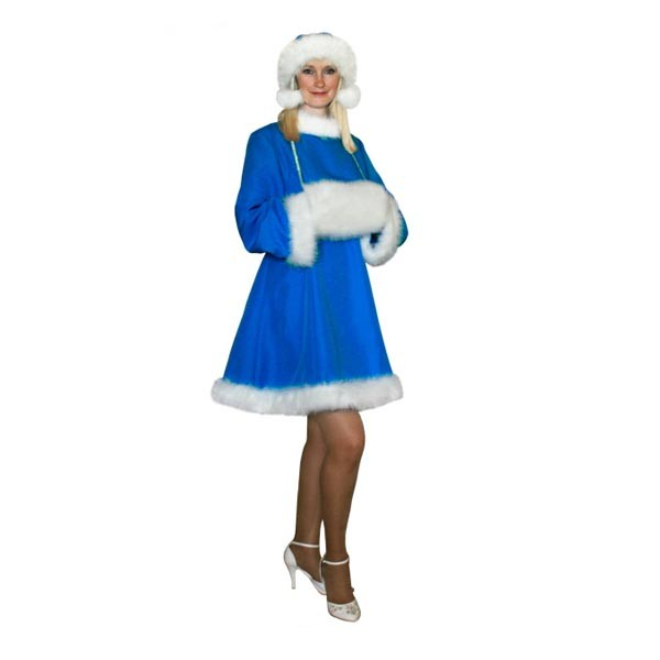 Карнавальный костюм Снегурочки арт S-28jg