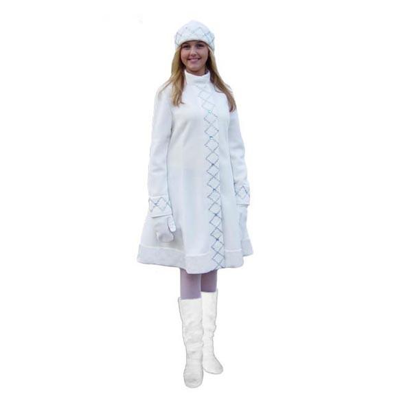 Карнавальный костюм Снегурочки арт S-4b