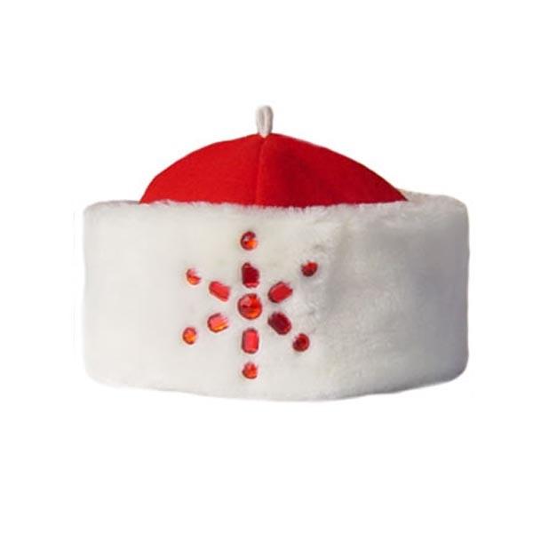 Шапка Деда Мороза арт SHM-8k