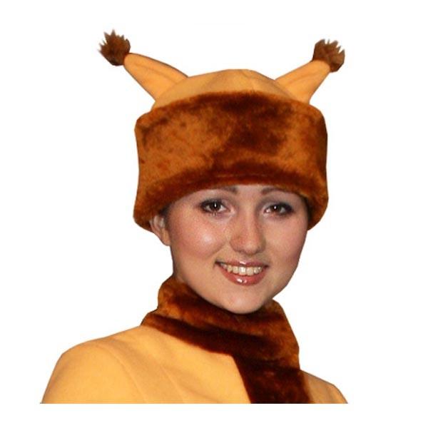 Карнавальная шапка Белка арт SHV-6rij