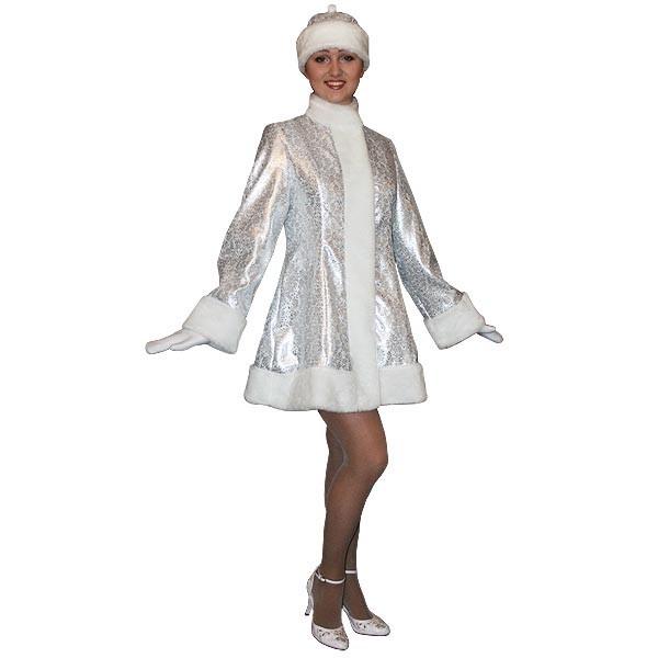 Карнавальный костюм Снегурочки арт SM-201ser
