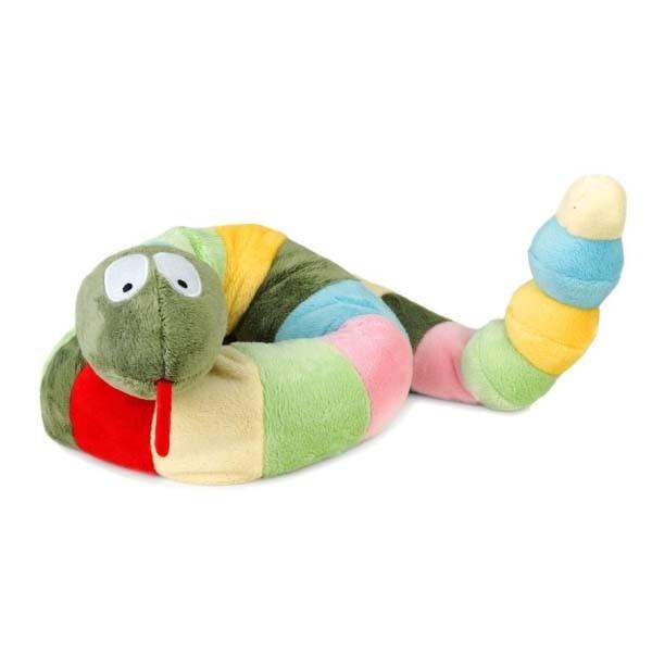 Игрушка шарф грелка Змея Символ 2013 года.