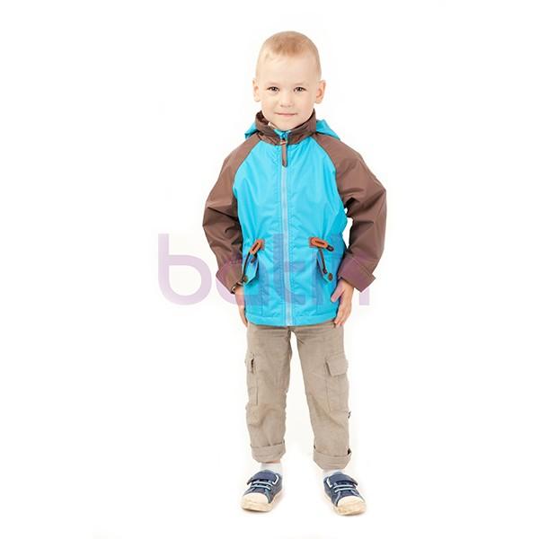 Ветровка для мальчика Кузьма В602-ЧА